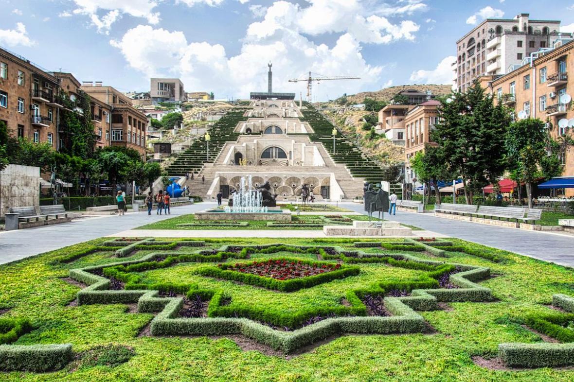 کاسکاد ایروان (ارمنستان)