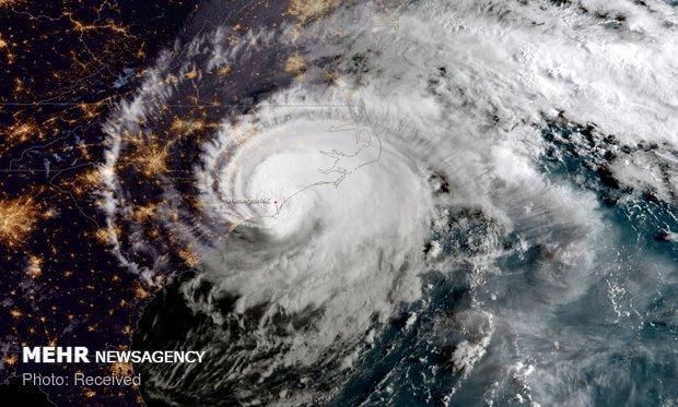 توفان برق 28 هزار خانه را در فرانسه قطع کرد