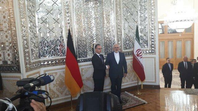 وزیر خارجه آلمان با ظریف دیدار کرد