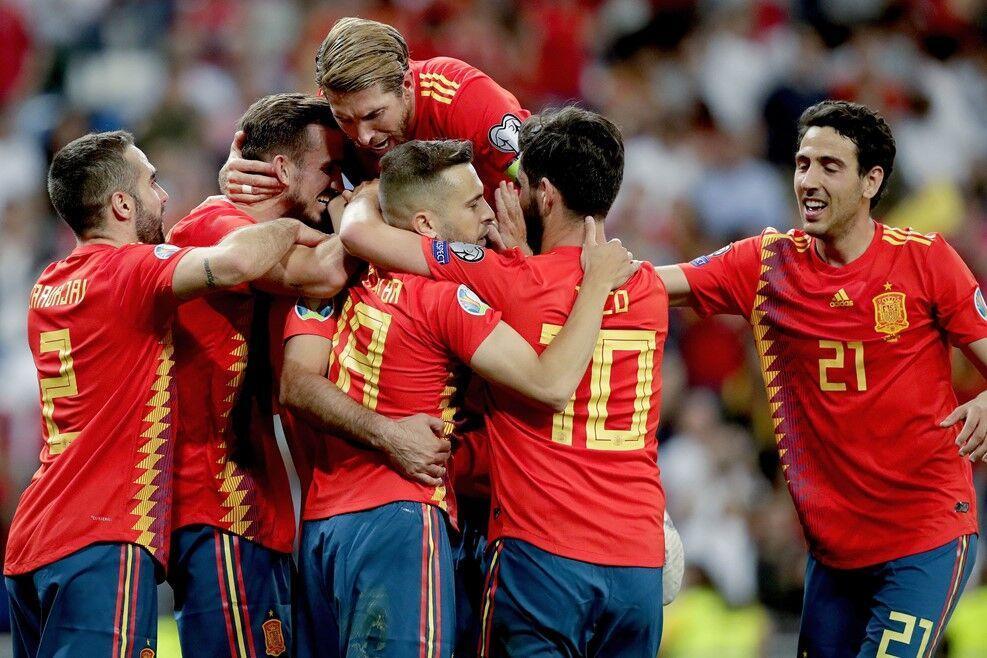خبرنگاران مقدماتی یورو 2020؛ پیروزی اسپانیا در مادرید