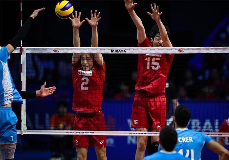 لیگ ملت های والیبال، ژاپنی ها آرژانتین را شکست دادند، فرانسه بر لهستان غلبه کرد