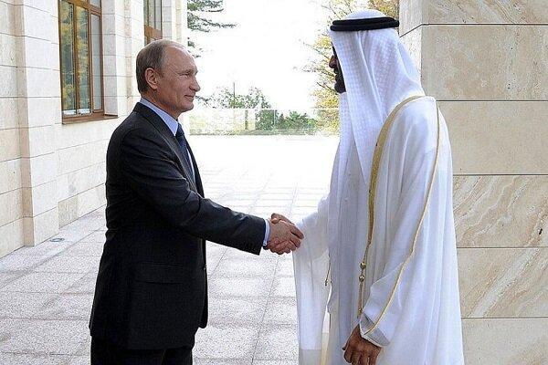 پوتین و ولیعهد امارات درباره امنیت خلیج فارس تبادل نظر کردند