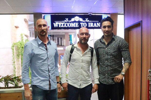 باشگاه استقلال از سه دستیار ایتالیایی استراماچونی رونمایی کرد