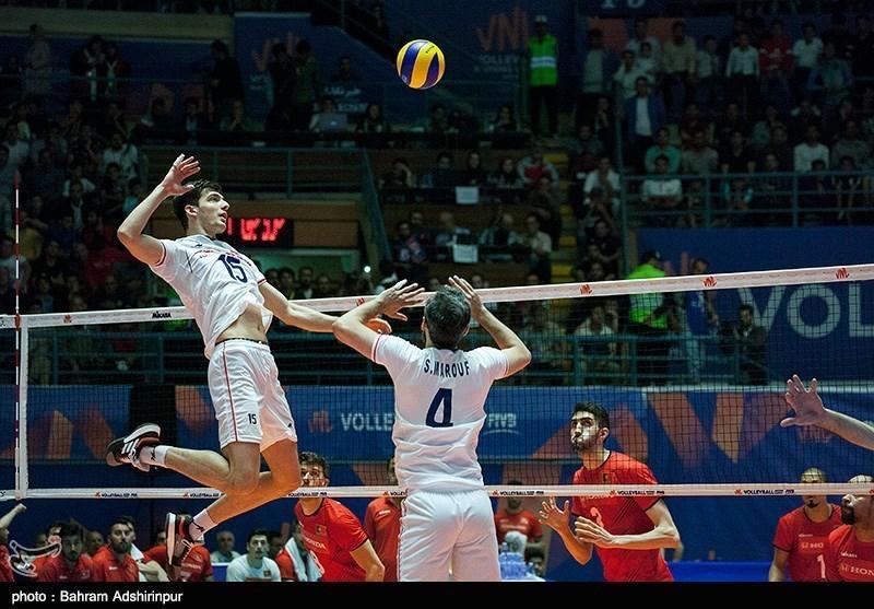 تمجید فدراسیون جهانی والیبال از غفور و مجرد، ایران و ایتالیا به فینال نزدیک شدند