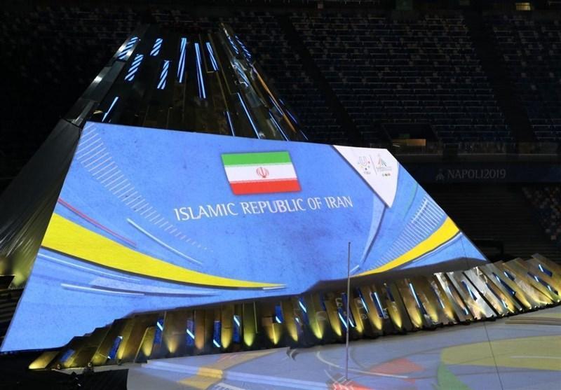 یونیورسیاد 2019 ایتالیا، ایران در دومین روز وارد جدول توزیع مدال شد، صندلی بیست وچهارم با یک برنز