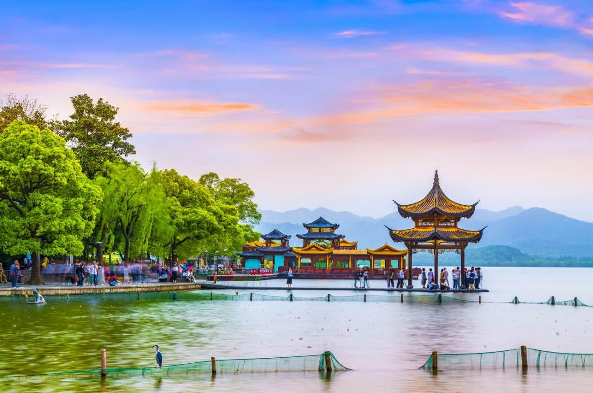 دریاچه غربی هانگزو (چین)