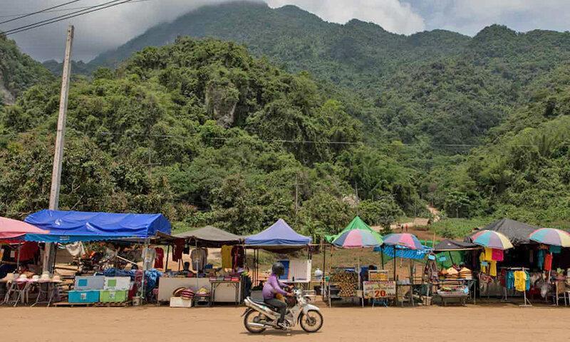 بازدید یک میلیون نفر از پناهگاه دانش آموزان تایلندی ، غاری که قطب گردشگری شد
