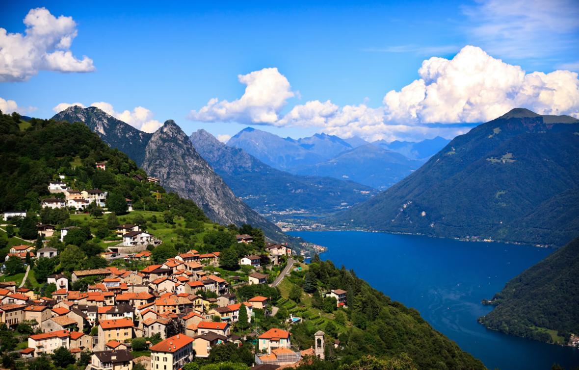 دریاچه لوگانو (سوئیس)