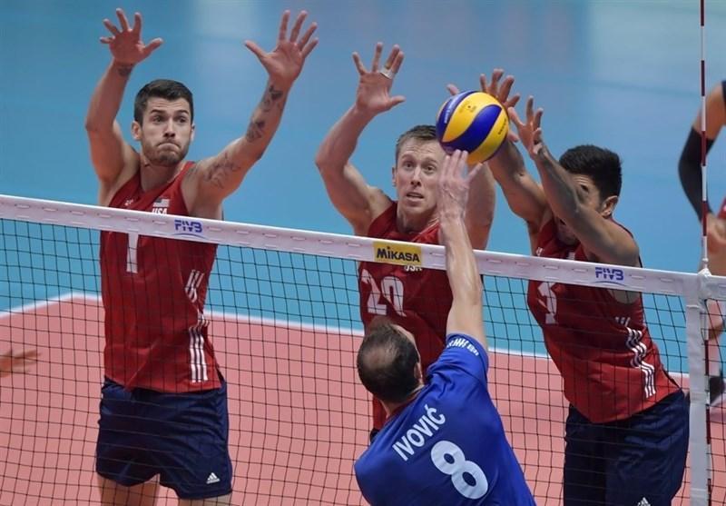 والیبال انتخابی المپیک، ترکیب عجیب ایتالیا، آمریکا و کامرون