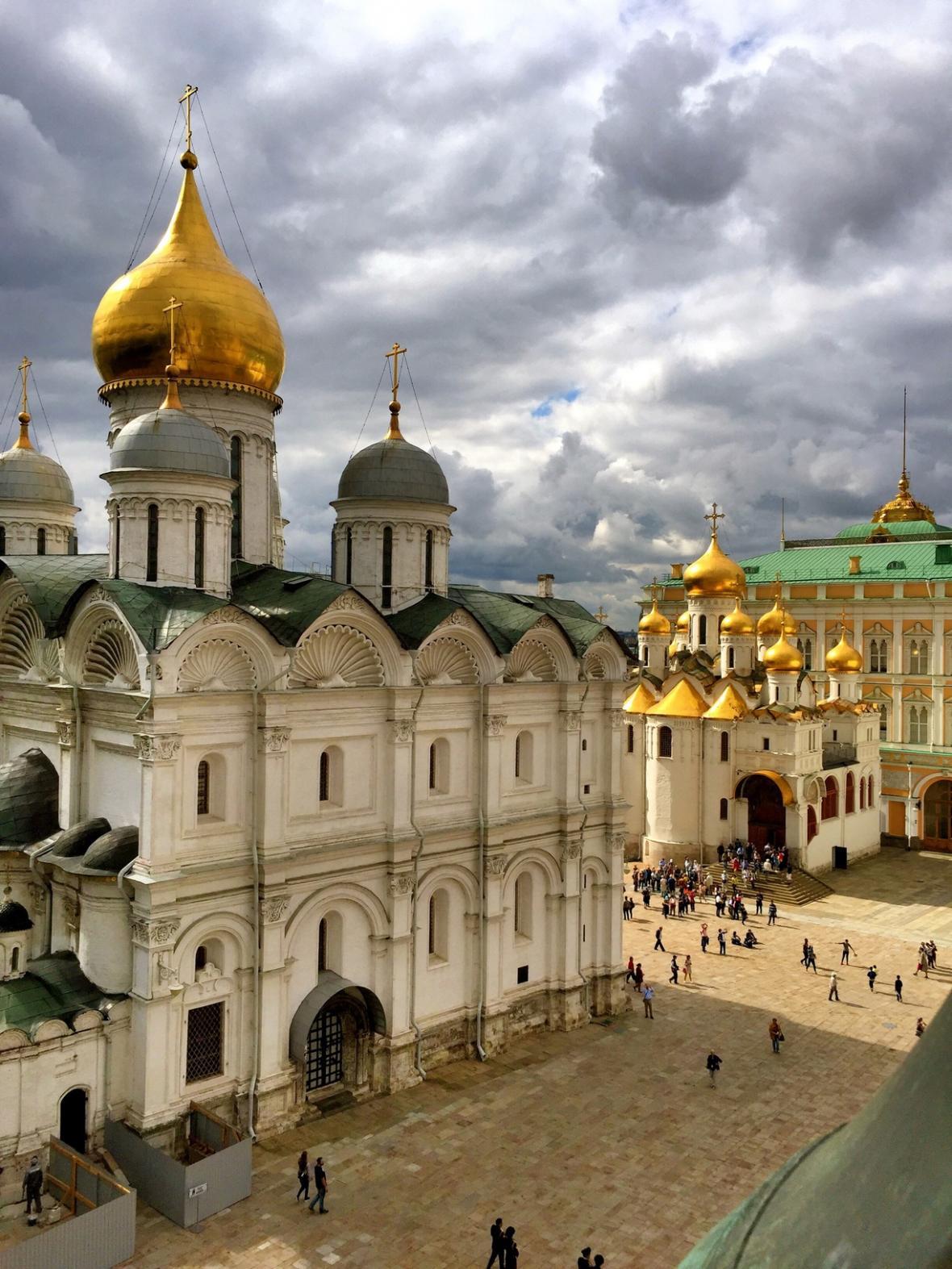 کاخ کرملین مسکو (روسیه)