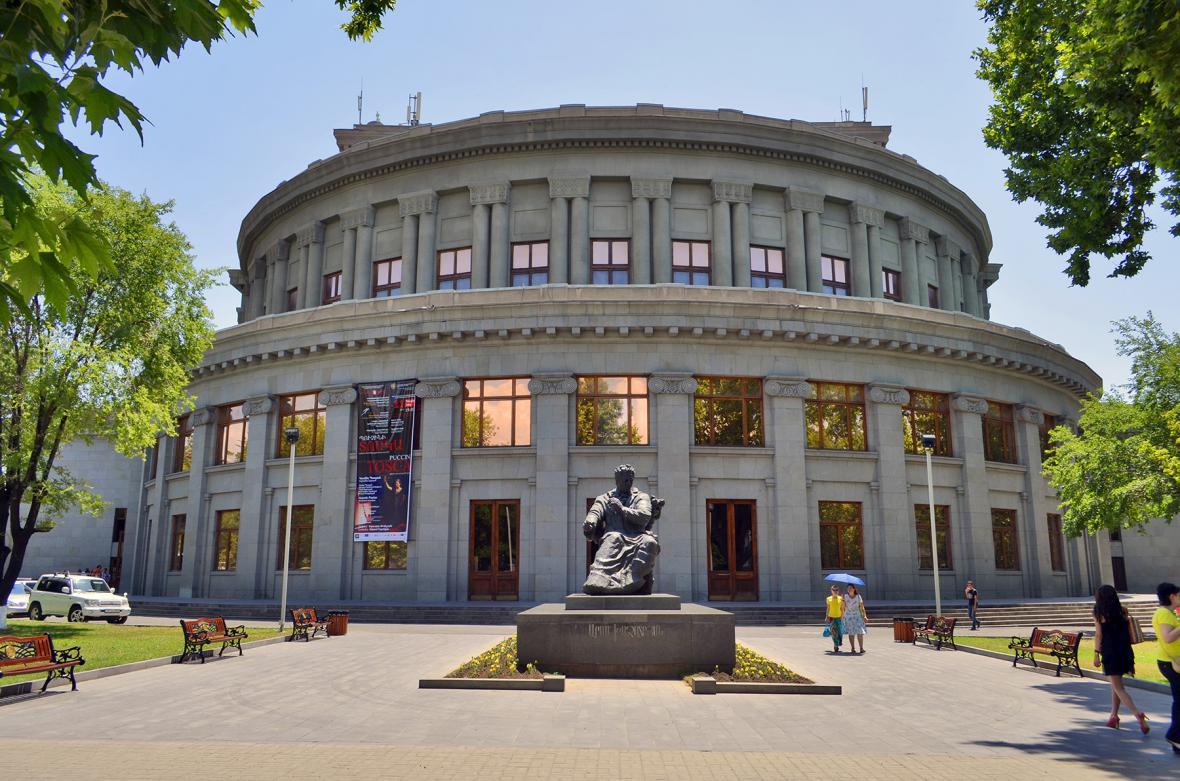 تالار اپرای ایروان (ارمنستان)
