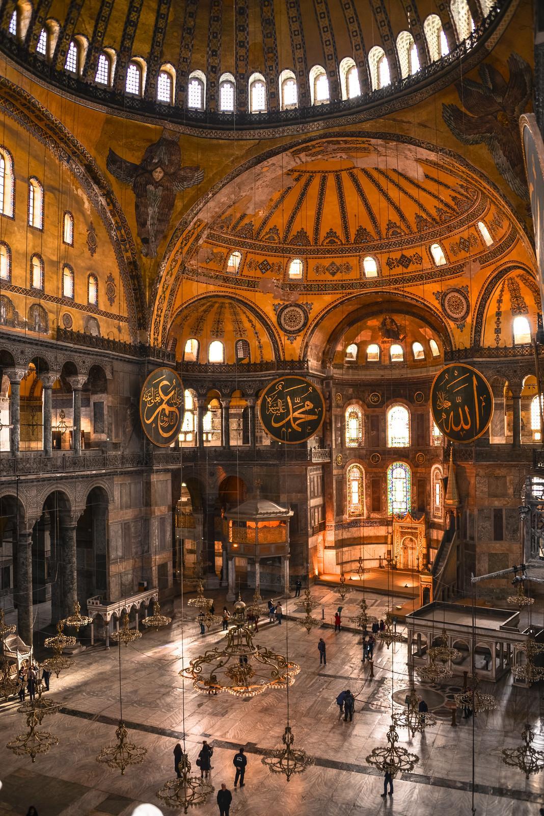 موزه ایا صوفیه استانبول (ترکیه)
