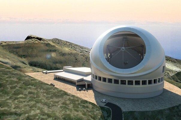 احتمال راه اندازی برترین تلسکوپ دنیا در اسپانیا به جای هاوایی