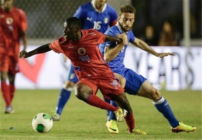 توقف ایتالیا برابر هائیتی، هلند در چین پیروز شد