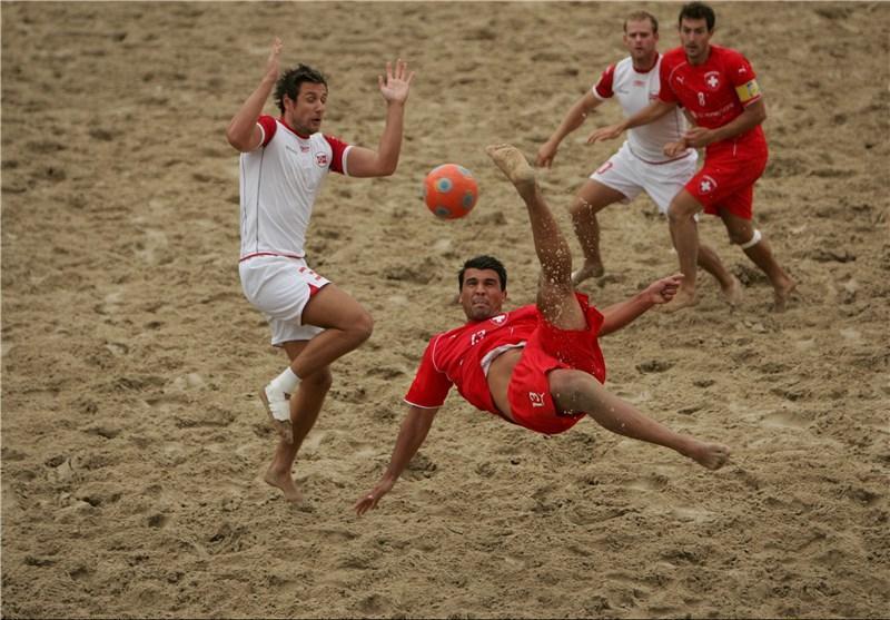 رجحان تیم فوتبال ساحلی ایران برابر ایتالیا