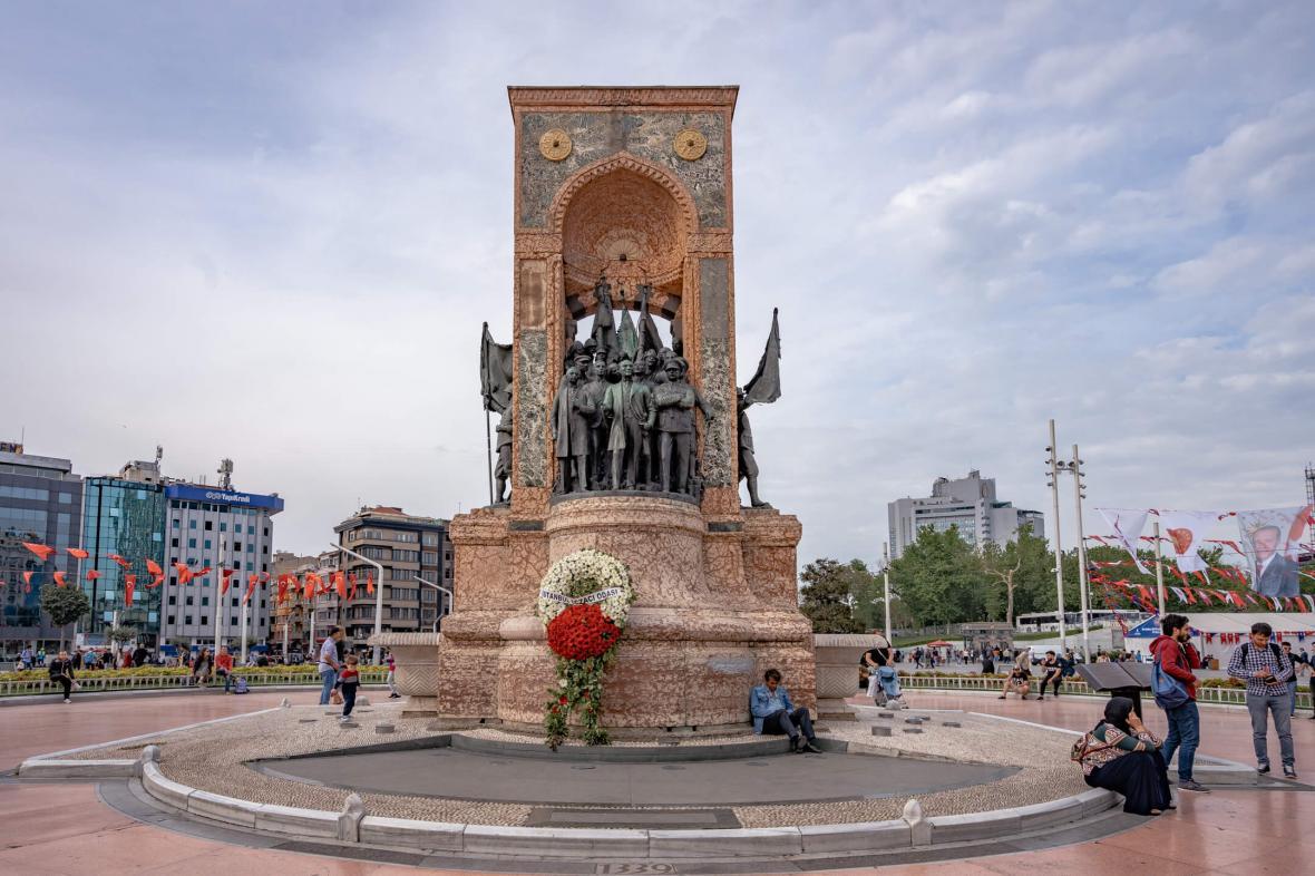 میدان تقسیم استانبول (ترکیه)