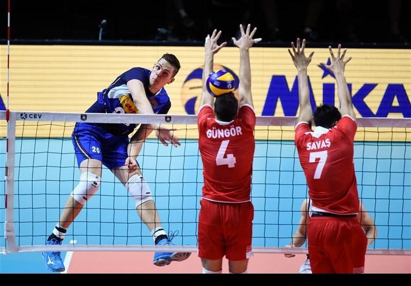 والیبال قهرمانی اروپا، ترکیه مغلوب ایتالیا شد