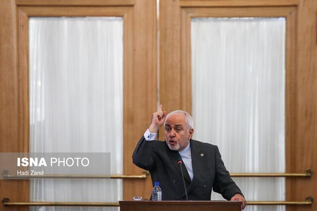 واکنش ظریف به بیانیه مشترک انگلیس، فرانسه و آلمان