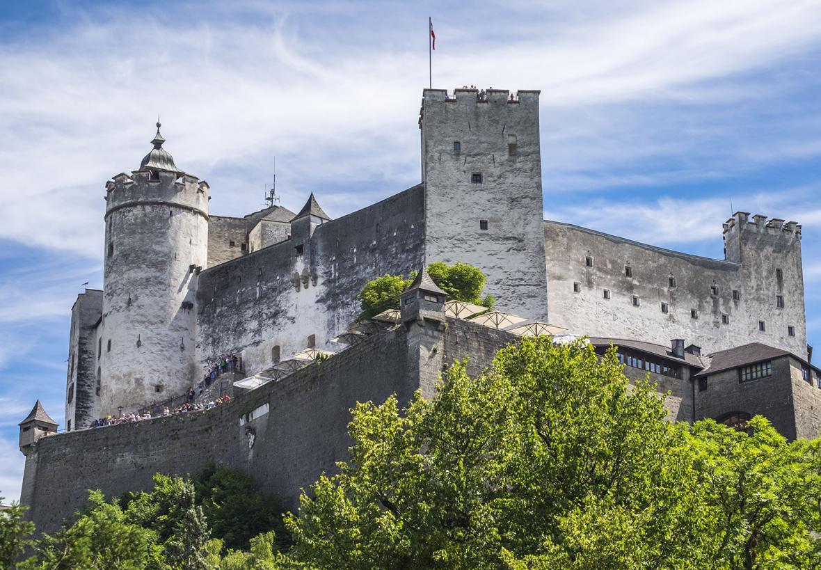 قلعه هوهن سالزبورگ (اتریش)