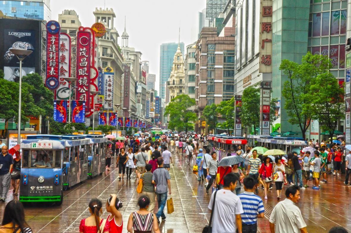 خیابان نانجینگ شانگهای (چین)