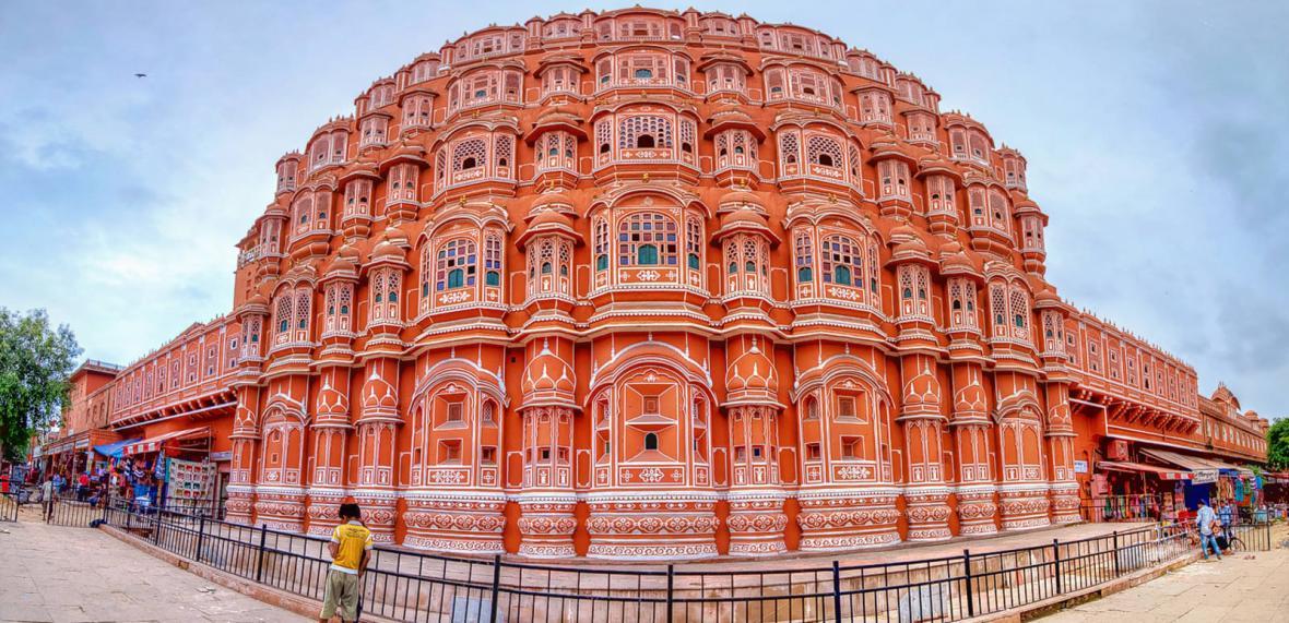 قصر هوا محل جیپور (هند)