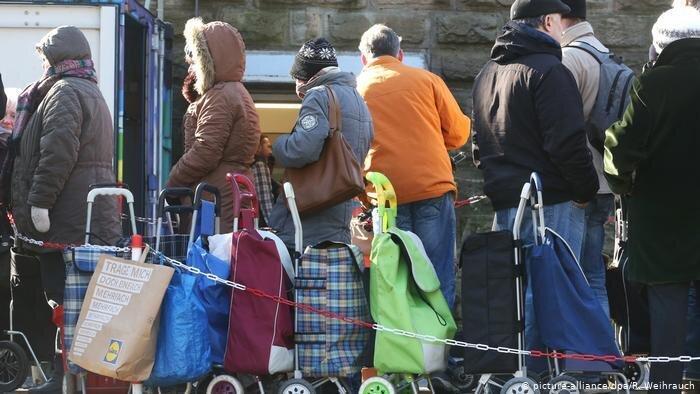 نابرابری درآمدها در آلمان به بالاترین سطح خود رسید
