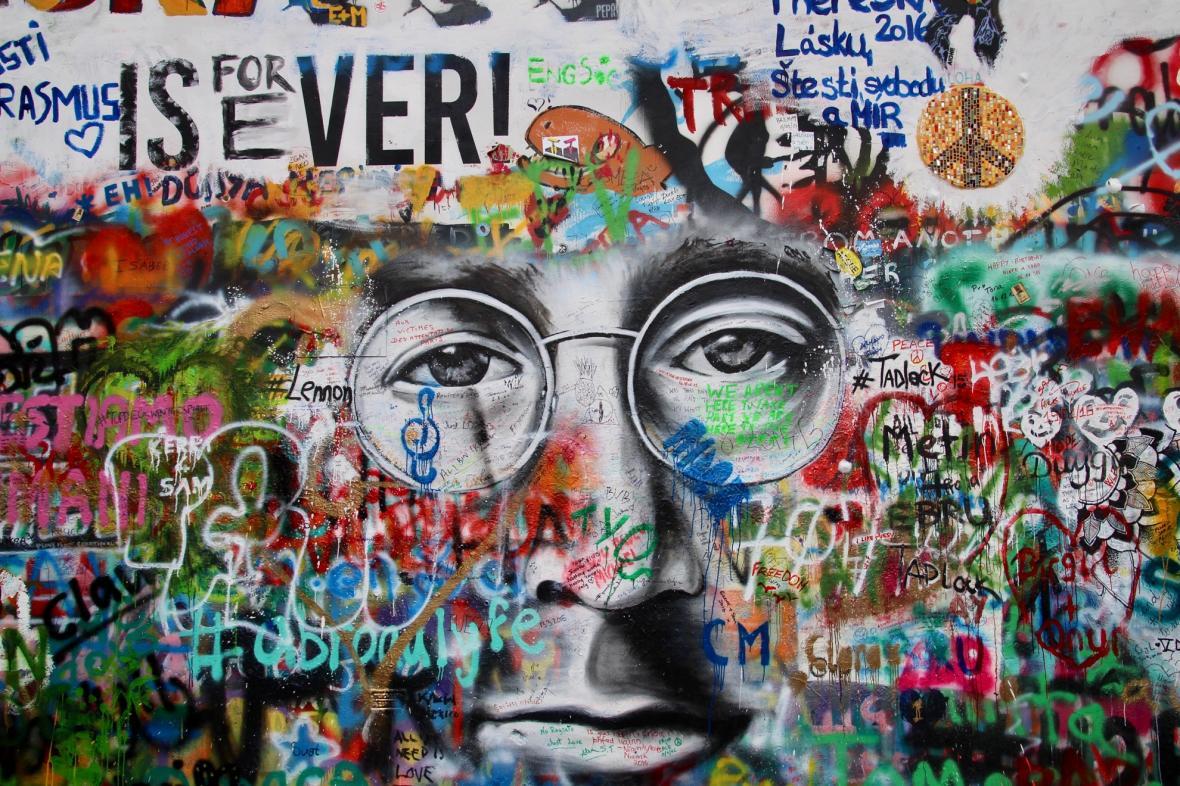 دیوار لنون پراگ (جمهوری چک)