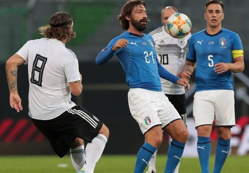 خاطره سازی اسطوره های ایتالیا و آلمان در یک بازی محبت آمیز؛ از توتی و پیرلو تا کلینزمن و فرینگس