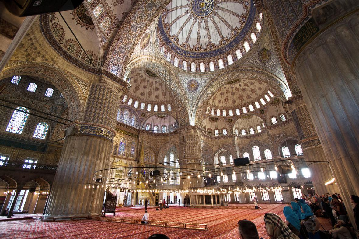مسجد سلطان احمد استانبول (ترکیه)