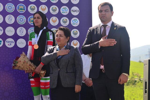 دوچرخه سوار زن ایرانی: با حضور در تیم اسپانیایی پیشرفت می کنم، برای از دست دادن سهمیه المپیک ناراحتم