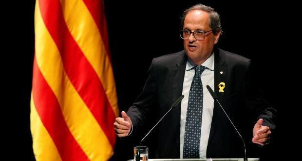 درخواست رهبر کاتالونیا برای مذاکره با اسپانیا