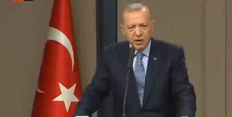 اردوغان: مقام های آلمان، فرانسه و آمریکا با تروریست ها دیدار می نمایند