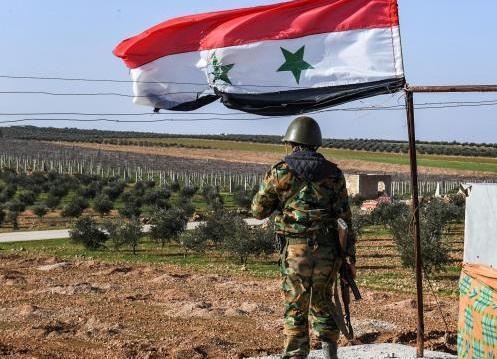 ادامه پیشروی ارتش سوریه به سمت مرز مشترک با ترکیه