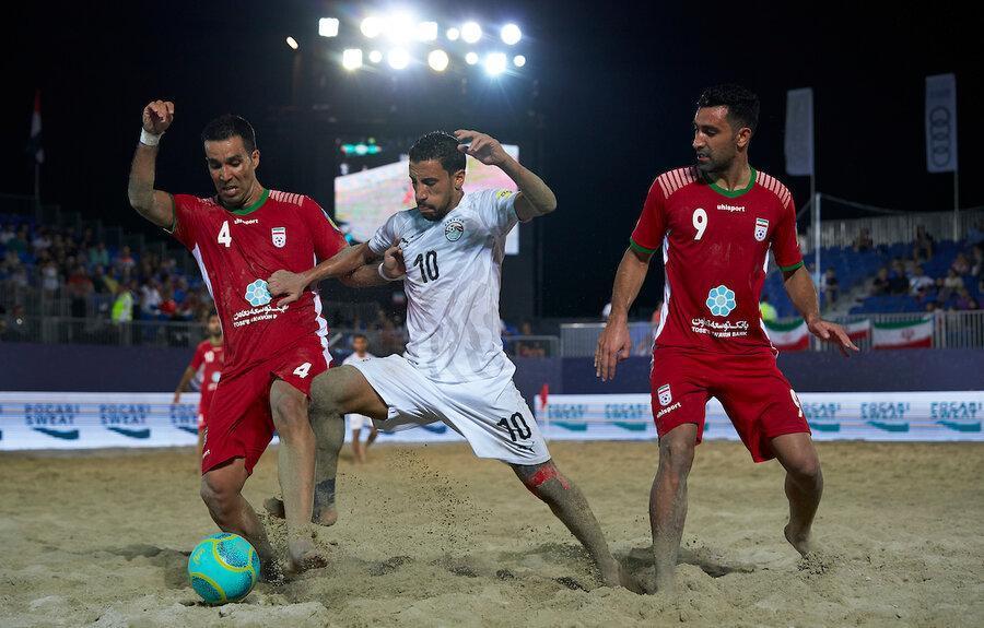 جام بین قاره ای فوتبال ساحلی، ایران به فینال صعود کرد، تقابل شاگردان هاشم پور با اسپانیا برای دفاع از عنوان قهرمانی