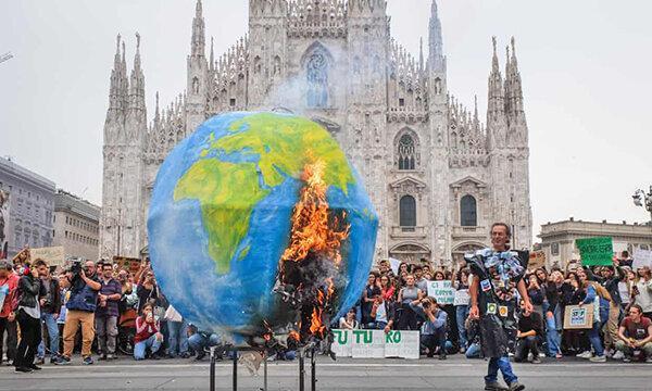 نخستین در جهان ، اقلیم و پایداری وارد کتاب های درسی ایتالیا می گردد
