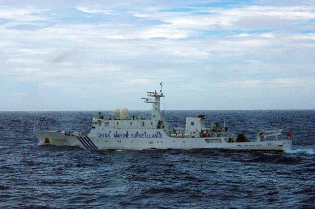 اعتراض ژاپن به حضور کشتی های چین در آب های مورد مناقشه