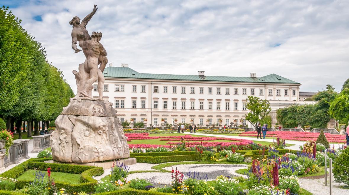 قصر میرابل سالزبورگ (اتریش)
