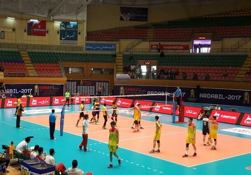تیم والیبال امید چین مقابل مالزی به پیروزی رسید