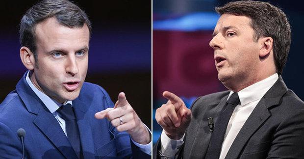رهبران ایتالیا و فرانسه دیدار می نمایند