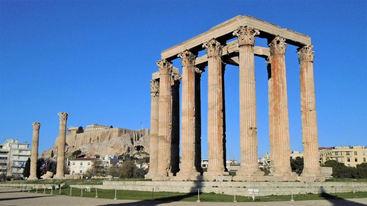 معبد زئوس آتن (یونان)