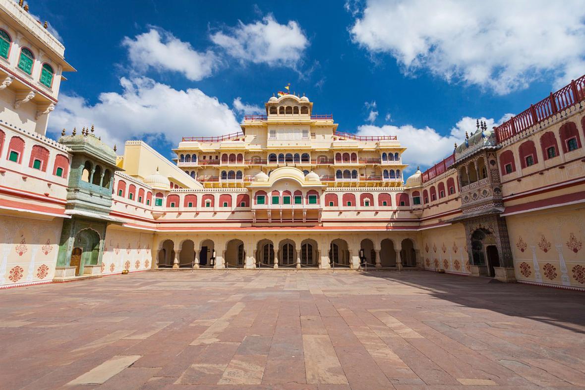 کاخ شهر جیپور (هند)