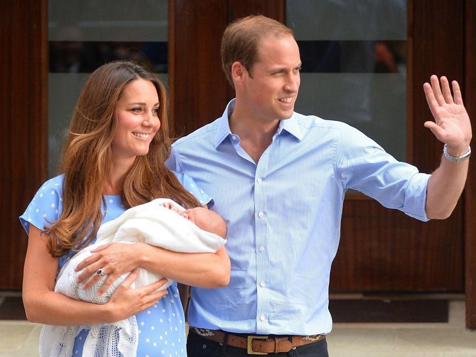 نوزاد سلطنتی انگلیس، جاذبه گردشگری؟!!!