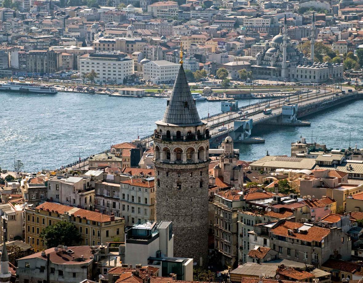 برج گالاتا استانبول (ترکیه)