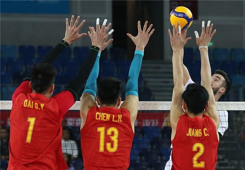والیبال انتخابی المپیک، چین حریف ایران در فینال شد
