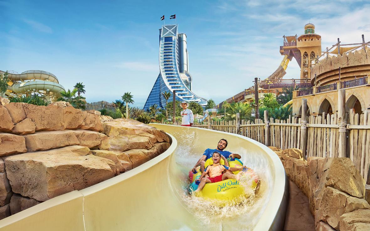 پارک آبی وایلد وادی دبی (امارات متحده)