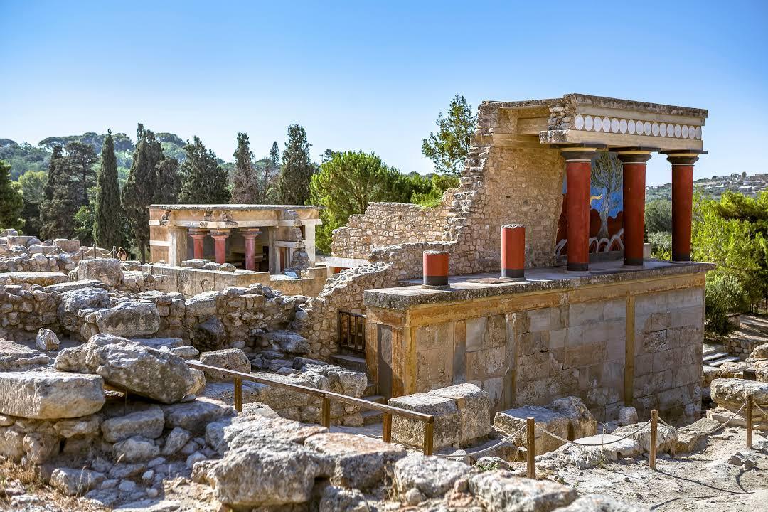 محوطه باستانی کنوسوس کرت (یونان)