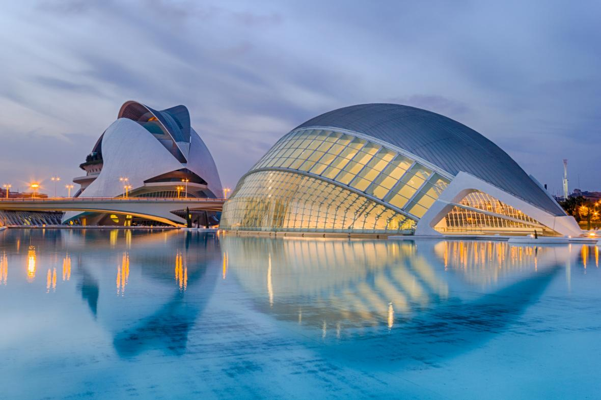 شهر هنرها و علوم والنسیا (اسپانیا)