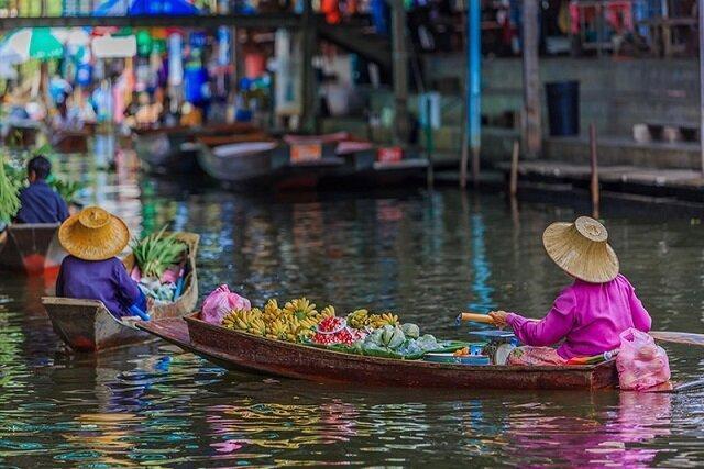 بازارهای شناور بانکوک، جاذبه های گردشگری تکرار نشدنی! ، بهترین غذاهای سنتی تایلندی در دامنوئن سادواک
