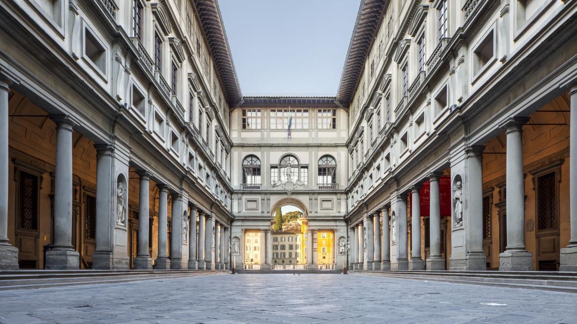 گالری اوفیتزی فلورانس (ایتالیا)