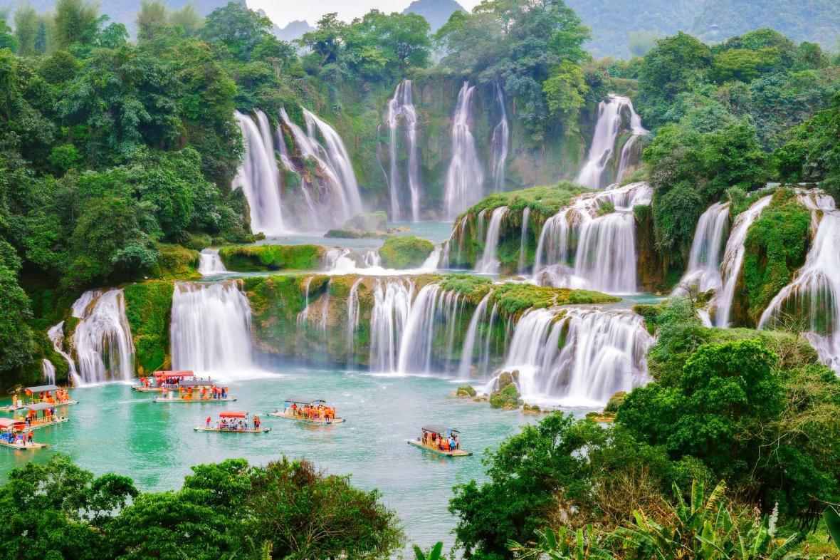 آبشارهای بن گیوک دیتین (ویتنام)